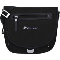 Sherpani Millie Black Small Flapover Messenger Bag