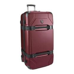 Traveler's Choice Maxporter Merlot 32-inch Hardside Rolling Upright Duffel Suitcase