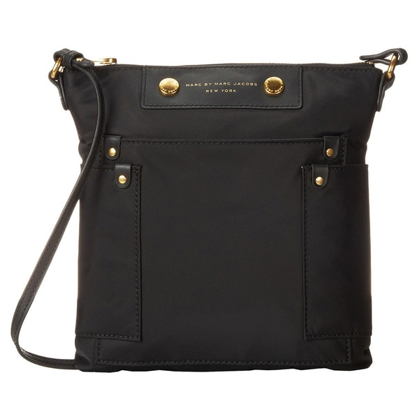 Marc by Marc Jacobs Preppy Nylon Sia Crossbody Bag Black