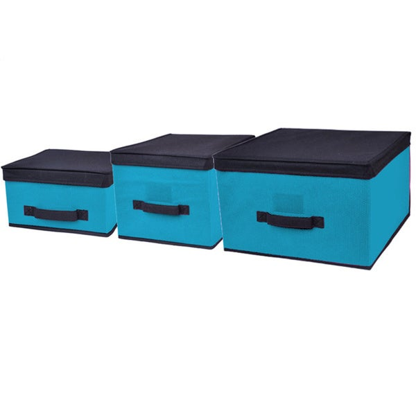 Home Basics 3-piece storage Box Set