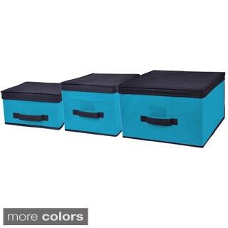 Home Basics 3-piece storage Box Set