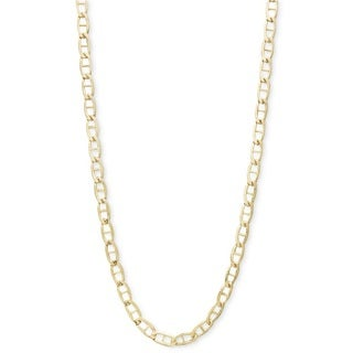 10k Yellow Gold Marina Chain Necklace