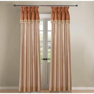Jennifer Taylor Tan Single Curtain Panel, Caravan 20x84
