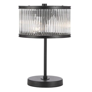 Crystal Rod Iron Essex Contemporary Modern Desk Lamp