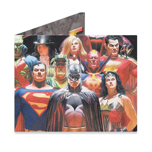 The Mighty Wallet Justice League Tyvek Lightweight Wallet