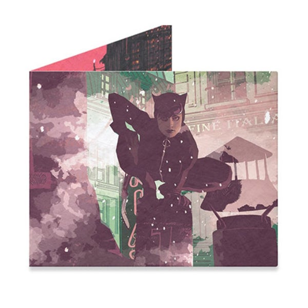 The Mighty Wallet Catwoman Tyvek Paper Slim Lightweight Wallet