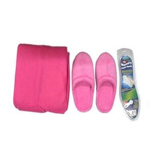 Slipper And Blanket Set