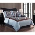 Journee Home Catalonia Patterned 7-piece Comforter Set