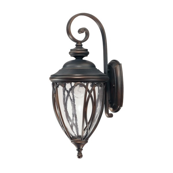 Capital Lighting Astor Collection 1-light Old Bronze Outdoor Wall Lantern