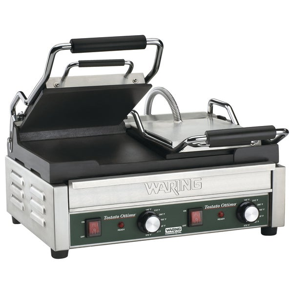 Waring Commercial WFG300 Panini Tostato Ottimo Dual Italian-Style Panini Grill, 240-volt (Refurbished)