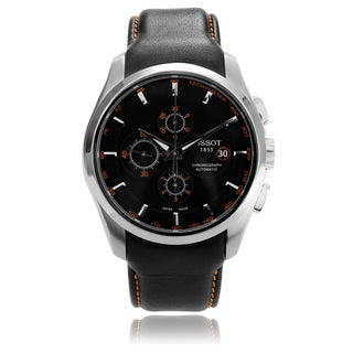 Tissot Men's 'Couturier' T035.627.16.051.01 Strap Watch