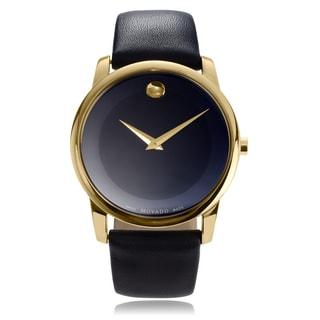 Movado Men's 'Museum Classic' 0606876 Strap Watch