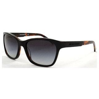 Emporio Armani Women's EA4004F Plastic Square Sunglasses