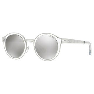 Emporio Armani Men's EA2029 Metal Round Sunglasses