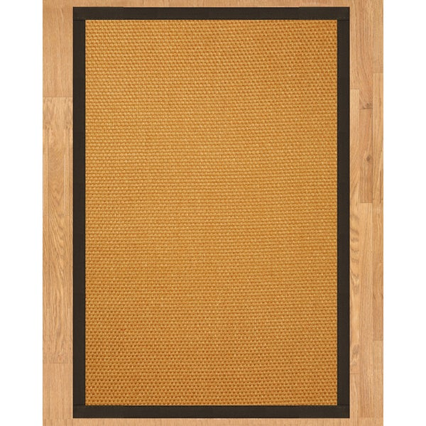 Handcrafted Carlton Sisal 9' x 12' Rug - Fudge