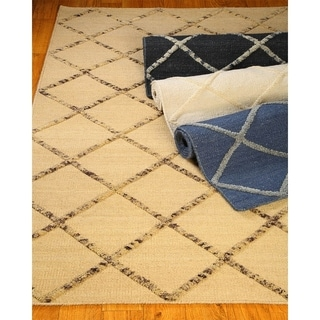 Hand Woven City Limits Moroccan Wool 8' x 10' Rug