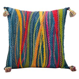 Mina Victory by Nourison Fantasia Multicolor Pillow 17-inch