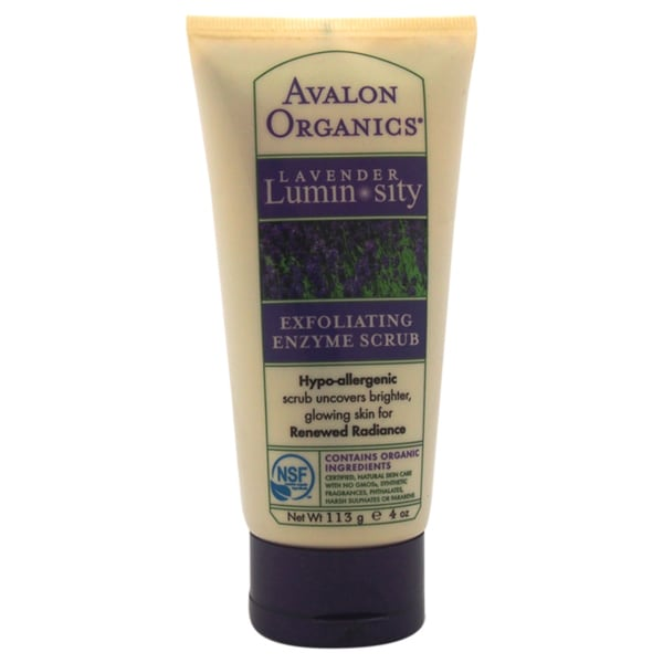 Avalon Organics Lavender Luminosity Exfoliating 4-ounce Enzyme Scrub