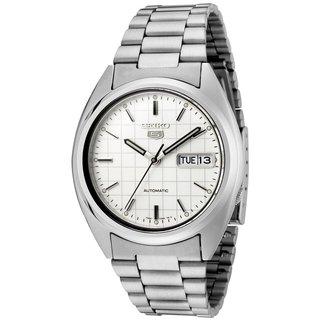Seiko Men's SNXF05K1 5 White Watch