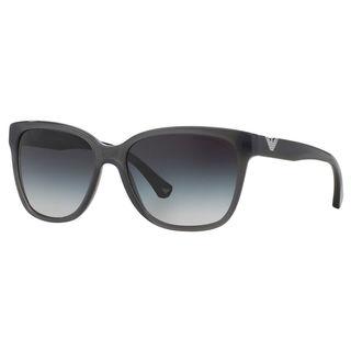 Emporio Armani Women's EA4038 Plastic Cat Eye Sunglasses