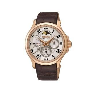 Seiko Men's SRX008P1 Premier White Watch