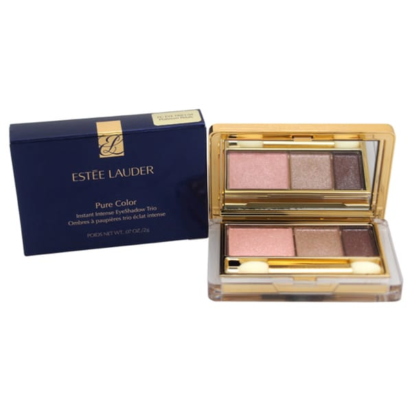Estee Lauder Pure Color Instant Intense Platinum Petals Eyeshadow Trio