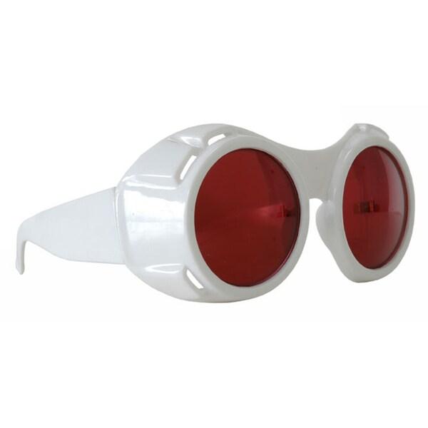 White Hyper Vision Goggles Costume Accessory