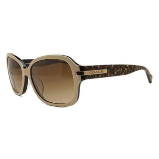 Coach Women's HC8105F L546 Amber 522913 Sunglasses