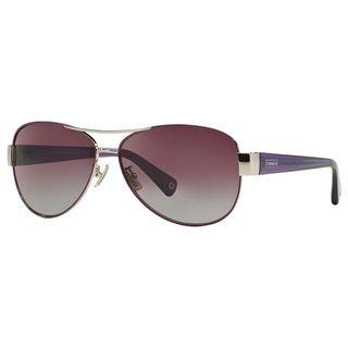 Coach Women's HC7003 L012 Kristina 91258J Sunglasses