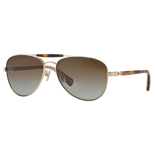 Coach Women's HC7041 L078 Alton 9176T5 Polarized Sunglasses