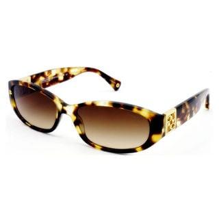 Coach Women's HC8012 Hope 504513 Plastic Oval Sunglasses