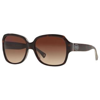 Coach Women's HC8043 L037 Bridget 508913 Plastic Square Sunglasses