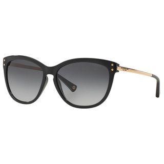 Coach Women's HC8084 L072 Celia 5180T3 Plastic Cat Eye Polarized Sunglasses