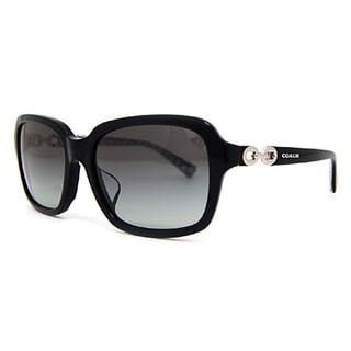 Coach Women's HC8104F L545 Ashley 521411 Plastic Square Sunglasses