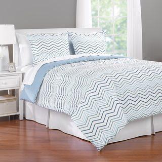 Martex Dixson Zig Zag 3-piece Comforter Set