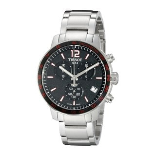 Tissot Men's T0954171105700 'Quickster' Automatic Chronograph Stainless Steel Watch