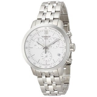 Tissot Men's T0554171101800 'PRC200' Chronograph Stainless Steel Watch