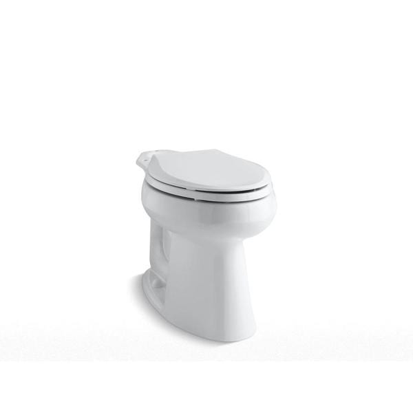 Kohler Highline Comfort Height Class Five Elongated Toilet Bowl Only in White