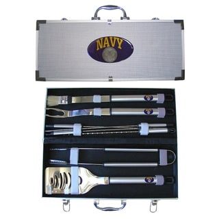 American Heroes 8-Piece Stainless Steel Barbecue Set