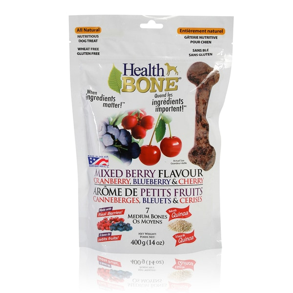 Health Bone Mixed Berry Treat
