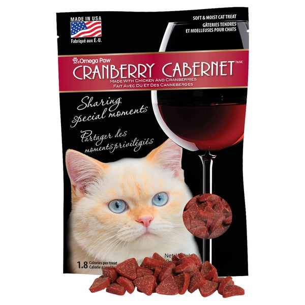 Cranberry Cabernet Soft Cat Treats