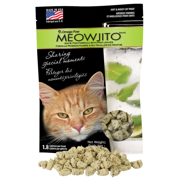 Meowjito White Fish Cat Treats