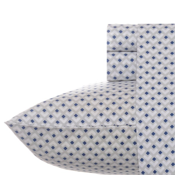 Nautica Layne Diamond Cotton Sheet Set