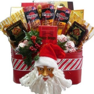 Santa's Favorite Snacks and Treats Christmas Holiday Gift Basket