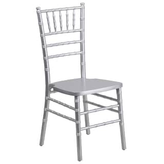 Paradise Wood Chiavari Ball Room Silver Chairs