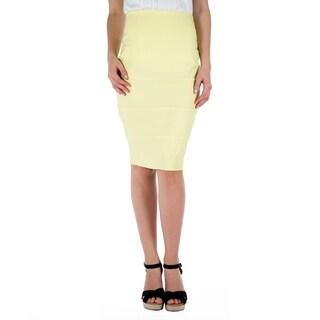 DownEast Basics Women's Paneled Pencil Skirt