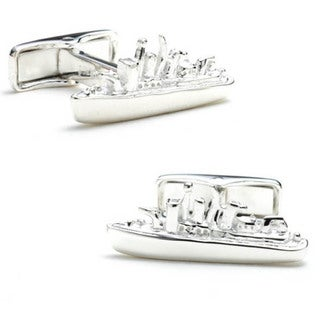 Battleship Cufflinks