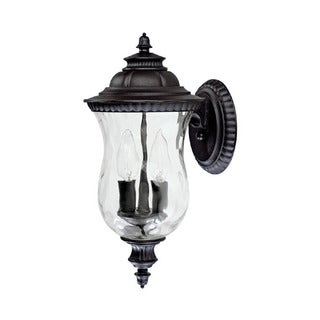 Capital Lighting Ashford Collection 2-light Black Outdoor Wall Lantern