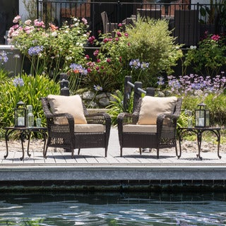 Christopher Knight Home Palermo 4-piece Outdoor Set with Cushions