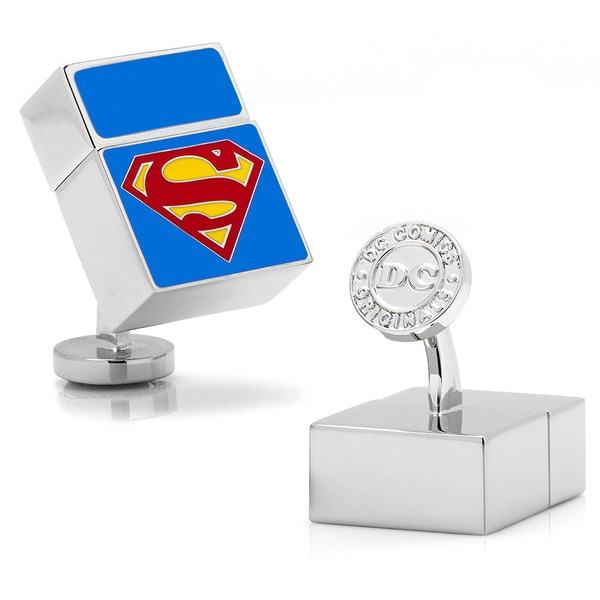 DC Comics Superman 4GB USB Flash Drive Cufflinks